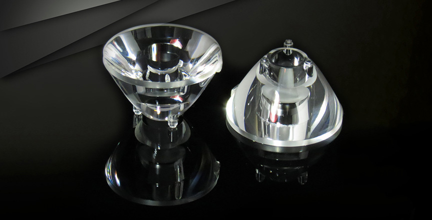 手电筒透镜